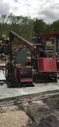 Lincoln Cv-655 Boom Mig Flux Core Welder With Ln10 Feeder Mounted On Skid