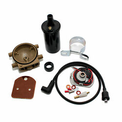 Pertronix 1247xtp6 Ignitor Ford 2n 8n 9n Tractor 4 Cyl Front Mount Distributor