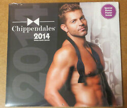 Chippendales 2014 Calendar + Poster Male Strippers Jaymes Vaughan Amazing Race