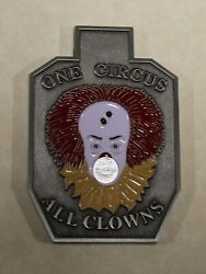 Central Intelligence Agency Cia Range 67 One Circus All Clowns Challenge Coin