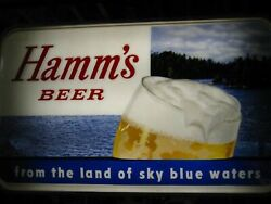 Large Hamms Double Sided Outdoor Lighted Sign