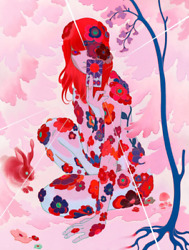 James Jean - Sun Tarot Pink - Signed And Numbed Limited Edition /100 Giclandeacutee -