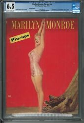 Marilyn Monroe Pin-ups Magazine Recalled For Being To Risque 1953 Cgc Graded 6.5