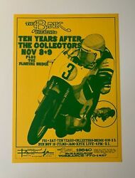 Ten Years After The Collectors Original Concert Poster At The Bank In Torrance
