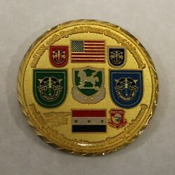 10th Special Forces Group Airborne 19th Sfga 2nd Bn Fob Army Challenge Coin