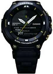 Casio Watch Smart Outdoor Watch Pro Trek Smart Wsd-f20sc-bk Menand039s Black F/s