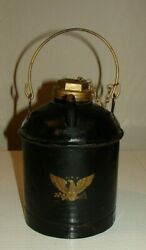 Eagle Bessmer And Lake Erie Railroad Marked Erie R R Gas Can Lid, Spout, Handle