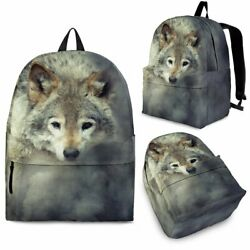 Amazing 3D Wolf Backpack Cool Backpacks Backpacks for College 3 Sizes 2 $44.95