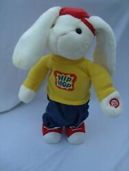 2002 Avon Kids Hip Hop Harry Toy Bunny Rabbit Easter Holiday