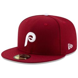 Philadelphia Phillies New Era Alternate Authentic On-field 59fifty Fitted Hat
