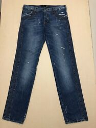 Roberto Just Cavalli Jeans Mens Size 36 Great Cond Distressed Style Design