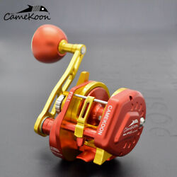 Camekoon Conventional Jigging Reel For Lever Drag Saltwater Sea Big Game Fishing