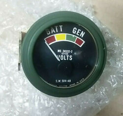 Us Jeeps And Trucks 24v Sw Voltmeter Parker Connectordonand039t Miss It.price Reduced