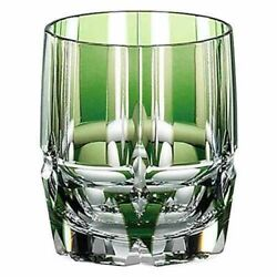 KAGAMI CRYSTAL OLD FASHION GLASS. GIFT NEW IN BOX. $160.00