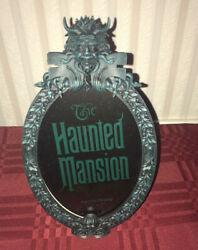 """Disney Parks Haunted Mansion Gate Sign Plaque Photo Frame 5"""" X 7"""" New"""