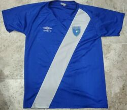 Vintage Late 1980's Umbro Guatemala Jersey Men's Size Small Rare Look