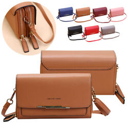 Small Shoulder Messenger Bags For Women Strap Crossbody Handbag PU Leather Purse $12.95