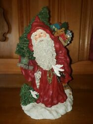 June Mckenna Santa Claus Figure From 1994 Hand Signed By June And Limited