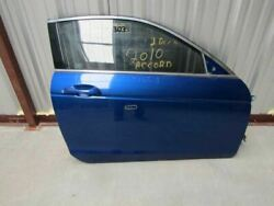 2008-2012 Honda Accord 2 Door Coupe Right Passenger Side Door Assembly Blue Oem