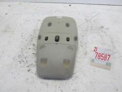 2004 Saab 9-3 Linear Inner Front Center Roof Dome Light Lamp Oem Sunroof Switch