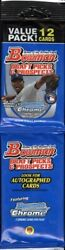 2011 Bowman Draft Picks And Prospects Baseball Rack Pack Blowout Cards