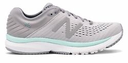 New Balance Womenand039s 860v10 Shoes Grey With Grey And Blue