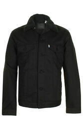 Leviand039s Menand039s Sherpa Snap Front Trucker Jacket