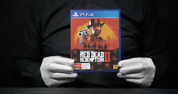 Red Dead Redemption Ii Ps4 Game Boxed - 'the Masked Man'