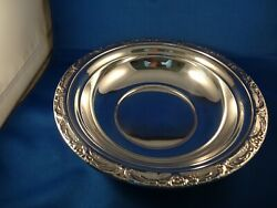 Reed And Barton 9 Sterling Bowl Burgundy Super Condition Original Owner