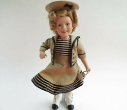 Shirley Temple Porcelain Doll-danbury Mint-wee Willie Winkie