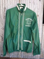 Vintage 1960s Harrison County Indiana Official 4h Jacket Size Small Corydon Fair