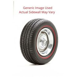 245/60r14 Radial T/a Bf Goodrich Tire With 2.5 White Wall - Modified Sidewall 1