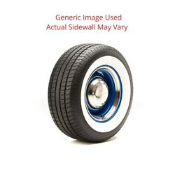 215/70r15 Streetsteel Milestar Tire With 2.75 White Wall - Modified Sidewall 1