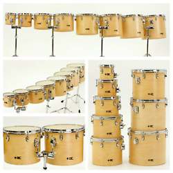 Treehouse Custom Drums Academy Concert Toms - Full Set 6-8-10-12-13-14-15-16