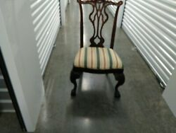 Andnbspchippendale Chairs Dark Cherry Ball And Claw 6 Side Chairs