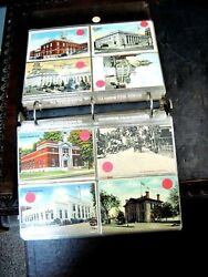 Vintage Group Of Post Cards- 215 Plus- All The Post Office Buildings In The Unit