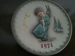 Hummel Plate Collectible 100 Year Anniversary Purchased In Germany