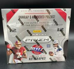 New Panini Prizm 2019 Nfl Football Trading Cards Box 12 Packs 12 Cards Per Pack