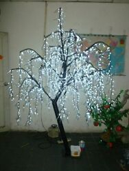 945 Led Willow Tree Light 1.8 M /6 Ft White Color Holiday Party Decor Home Decor