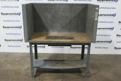 Updraft Downdraft Sanding Grinding Dust Collection Table Booth
