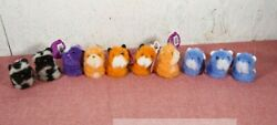 Pomsies Poo Series 1 Chewy Daisy Dash And Scout Plush Toy Lot Of 10