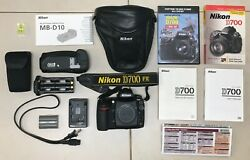 Nikon D700 Camera Body, With Full Accessories Dvd Guide And Book