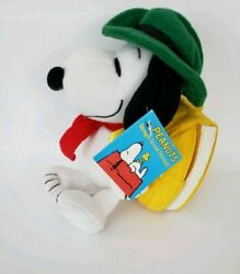 NEW Peanuts BEAGLE SCOUT SNOOPY On A Hike BACKPACK IS A BOOK