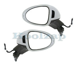 15-18 Macan Mirror Power Heated W/memory And Blind Spot And Signal Light Set Pair