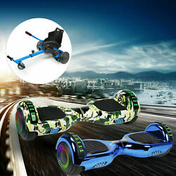 6.5 Bluetooth Hoverboard Led Self Balance Scooters Electric Hoover Board No Bag