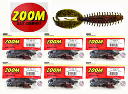 Zoom Z Craw Jr Pro Pack - 6 Pks Of 8 130-308 3.5 California 420 + Decal