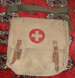 Vintage Military Red Cross shoulder bag $20.00