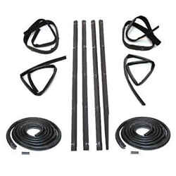 Sweep Belt And Glass Run Window Channel And Door Seal Kit For 72-79 Dodge D Series