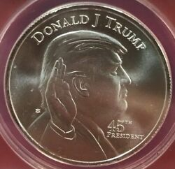 President Donald Trump White House Silver Round One Ounce . $29.99