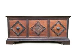 Rare Early 19th Century Brazil Dom João Vil Chest -rosewood And Vinhatico Wood